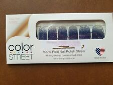 Color Street  Arctic Evening  Blue Silver Glitter Sparkle BLING!!