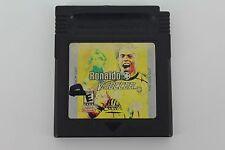 Ronaldo V-soccer Nintendo Game Boy Cartridge Only Tested Guaranteed to work