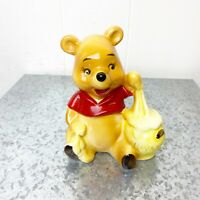 Vintage Disney Winnie the Pooh Honey Pot Figurine 4 Inch