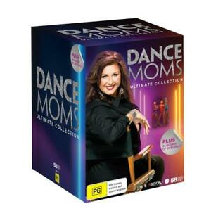 DANCE MOMS MUMS ULTIMATE COLLECTION SERIES 1-8 58 DVD BOXSET NEW Maddie Ziegler