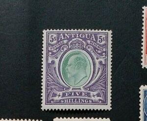 ANTIGUA 1903 5s  SG 40 Sc 30 Mint No Gum