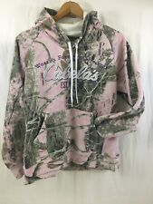 Cabelas Pink Camo Hoodie Womens Size Large Outdoor Wear