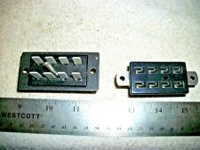 Lot Of Beau Big 8 Pin Cinch-Jones Type Female Connectors With Polarity Pin A