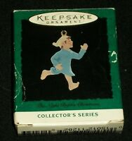 "Hallmark Keepsake Xmas Ornament Miniature Night Before Christmas Collector's 1"""