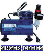 Paasche Airbrush Company D500 Compressor w Regulator & Auto Shutoff PASD500SR HH