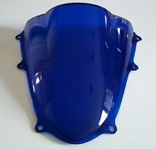 BULLE SUZUKI GSXR 1000 2009 2010 2011 2012 2013 2014  2015 DOUBLE COURBURE BLEU