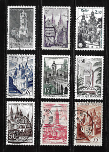 France .. Collection of used postage stamps .. 5831