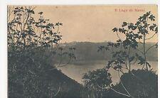 Italy, Il Lago di Nemi Postcard, B003