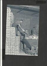 Nostalgia Postcard Aluminium ingots stacked ready for Aircraft Production 1940