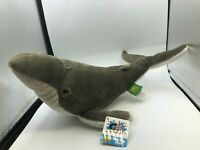 Wild Republic Cuddlekins Hump Back Whale Plush Kids Soft Stuffed Toy Animal Doll