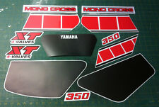 Yamaha XT 350 1986 - adesivi/adhesives/stickers/decal