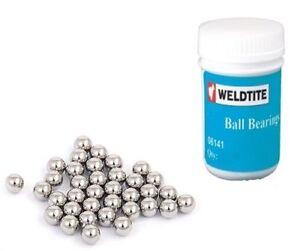 """Weldtite Cycle-Bike-Bicycle Ball Bearings Bulk Tub 1/4"""" 1/8"""" 5/32"""" 7/32"""" 3/16"""""""