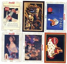 COCA COLA Lot de 6 Cartes NEUVES DIFFERENTES Lot N° CCLA  93