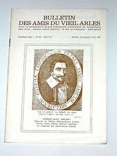AMIS DU VIEIL ARLES N°37 Le costume masculin provençal /  Le Vieux Tarascon