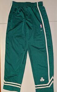 BOSTON CELTICS Nike Throwback Warm Up Button Pants Jersey L Bird Pierce Jacket
