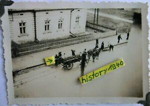Foto Juden - Jüdische Volkstypen - Zwangsarbeiter in Russland.