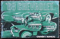 CHEVROLET 1968 ILLUSTRATED OWNER'S MANUAL
