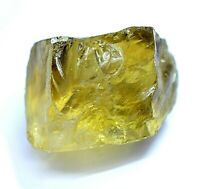 316.5 Ct Natural Lemon Citrine Untreated AGSL Certified Specimen Facet Rough