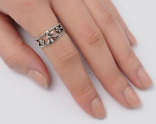 Silver Dragonfly Band Rings Sterling Silver 925 Best Deal Jewelry Gift Size 10