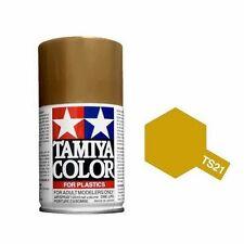 Tamiya TS-21 Gold Spray Paint Can  3.35 oz. (100ml) 85021