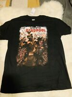 Marvel Comics dead pool T-shirt New With Tags Size Large