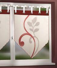 Bistro -/Scheibengardinen im Landhaus-Stil aus Polyester