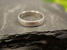 Hübscher 925 Sterling Silber Ring Schlicht Einfach Unisex Damen Herren Signiert