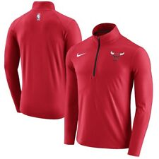 Nike Dry Mens Element Half Zip Basketball Top NBA Chicago Bulls 2XL 877587-657