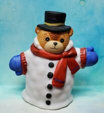 Enesco Lucy and Me Lucy Rigg Bear Snowman 1988