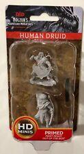 HUMAN DRUID Nolzur's miniatures new wizkids DUNGEONS AND DRAGONS