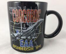 Concorde Airventure Oshkosh 1994 EAA coffee cup mug Experimental Aircraft