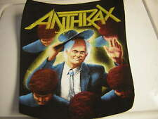 Anthrax Back Patch 1988 Among The Living Vintage Frank Bello Scott Import