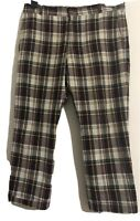 Beauty & Youth United arrows Japanese Mens Cropped Trousers Size M Tartan Gt Con