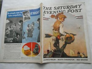 THE SATURDAY EVENING POST-OCT 20,1934-by NORMAN ROCKWELL