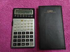 Vintage CASIO FX - 3800P calculadora científica de 10 dígitos Japón Con Estuche Original