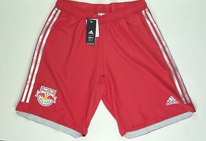 Adidas New York Red Bulls MLS Official Soccer Shorts DP4799 Large
