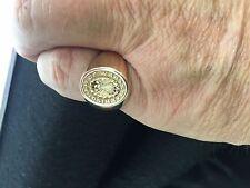 14kt Yellow Gold Jostens Military Prisoner Of War Ring Size 10