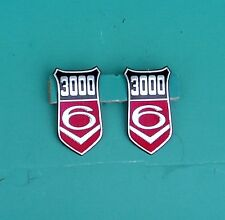 FORD CAPRI MK 1 GRANADA MK 1 3000V6 BADGE INSERTS, GENUINE FORD. POST FREE UK