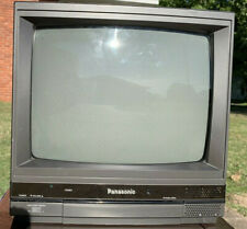 "Panasonic CT-1382Y Color Video Monitor 13"" Tube Screen CRT Retro Vintage EUC"