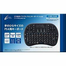 CYBER  Wireless Mini Keyboard (for PS4) Black - PS4