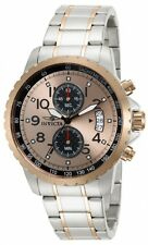 Invicta Mens 13784 Specialty Qtz Chronograph Rose Gold Dl Watch UPC 886678144211