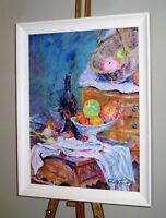 ROLF HARRIS Original Limited Edition Giclee on Canvas Print 'Homage to Cezanne'