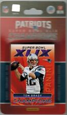 2014 2015 Panini NEW ENGLAND PATRIOTS Super Bowl XLIX 25-Card Set FACTORY SEALED