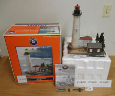 LIONEL 6-24119 BIG BAY LIGHTHOUSE SOUND TRAIN LAYOUT OPERATING ACCESSORY O GAUGE