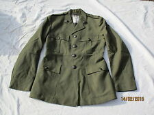 Uniform Man´s Lovat Worsted, Royal Marines, Jacket, Size 38 (dt.48)