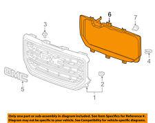 GMC GM OEM 16-18 Sierra 1500-Inner Grille 84073556