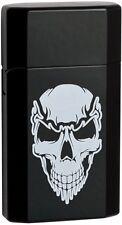Genuine 2016 Ronson JetLite Jet Lite Skull Black Finish Tourch Lighter 43533 NEW