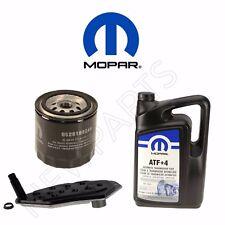 For Dodge Jeep Chrysler Oil Filter AT Fluid & Auto Trans Filter KIT MOPAR OEM