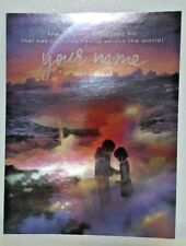 Funimation Comics Your Name (Kimi no Na wa) Holofoil Hologram Poster NM-/M 2016