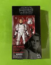 Star Wars - The Black Series Luke Skywalker STORMTROOPER E5152 Death Star Escape
